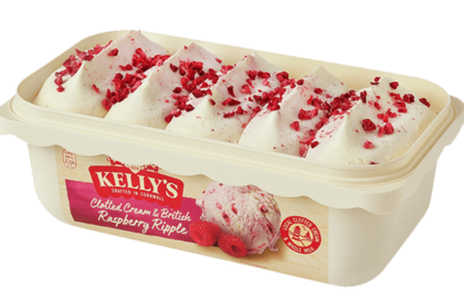 Clotted Cream & British Raspberry Ripple